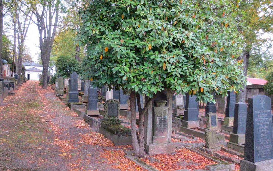 Spendenaktion für die Rettung der Grabsteine